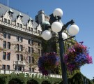A Close up of the Empress Hotel