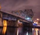 Johnson Street (Blue) Bridge at night