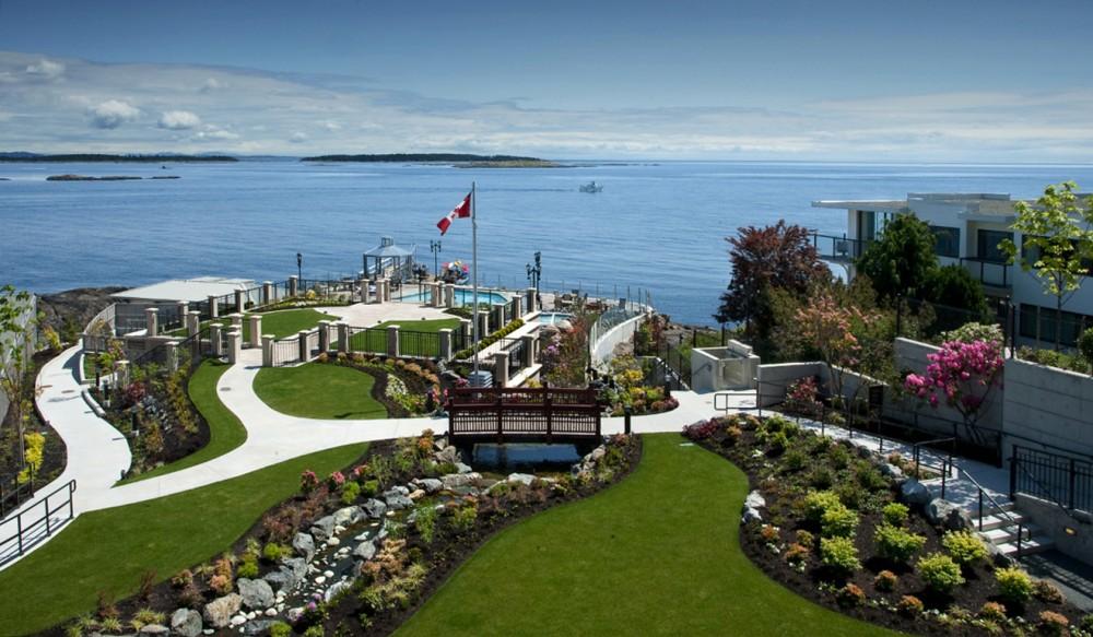 Oak Bay Beach Hotel Wedding
